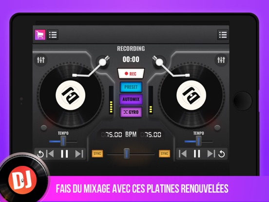 Screenshot #4 pour DJ Mix Maker