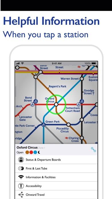 Screenshot for Tube Map Pro in Lebanon App Store