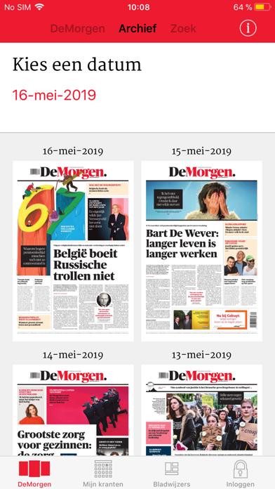 download De Morgen Print Editie indir ücretsiz - windows 8 , 7 veya 10 and Mac Download now