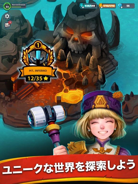 Battle Bouncers - ヒーローと魔法使いたちのおすすめ画像5