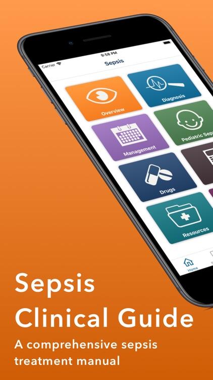 Sepsis Clinical Guide screenshot-0
