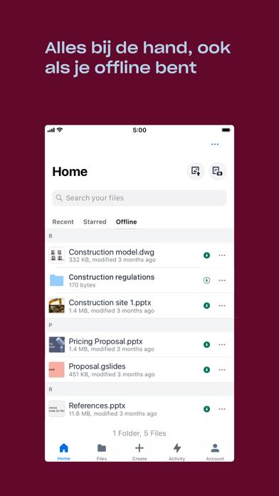 Dropbox: synchroniseer en deel