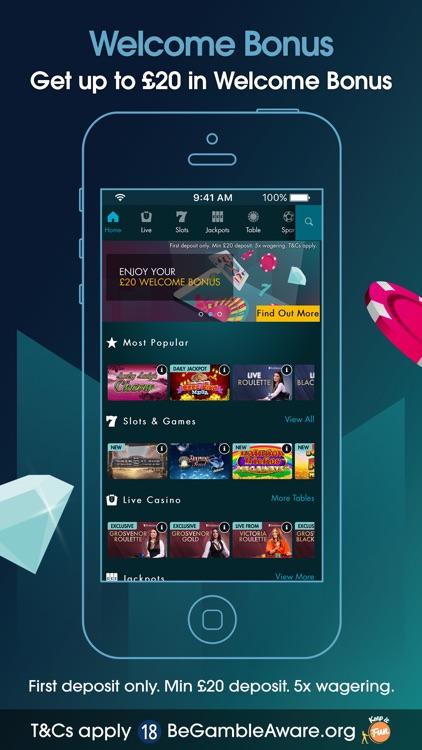 Grosvenor Casino Online Games