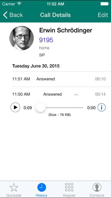 Acrobits Softphone review screenshots