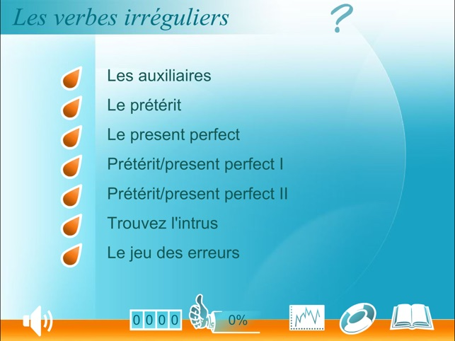 Verbes Irreguliers Anglais Hd On The App Store