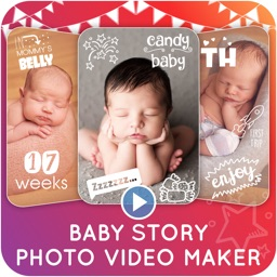 Baby Story Photo Video Maker