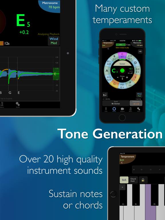 TonalEnergy Tuner & Metronome Screenshots