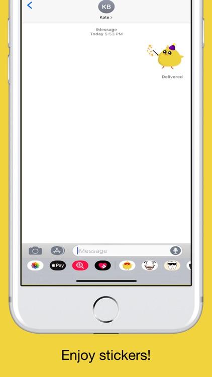 Chicky chick - chicken emoji screenshot-4