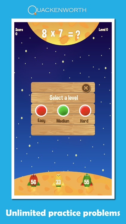 Fruit Rockets Multiplication screenshot-4