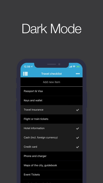 Checklist app (Packing List) screenshot-3