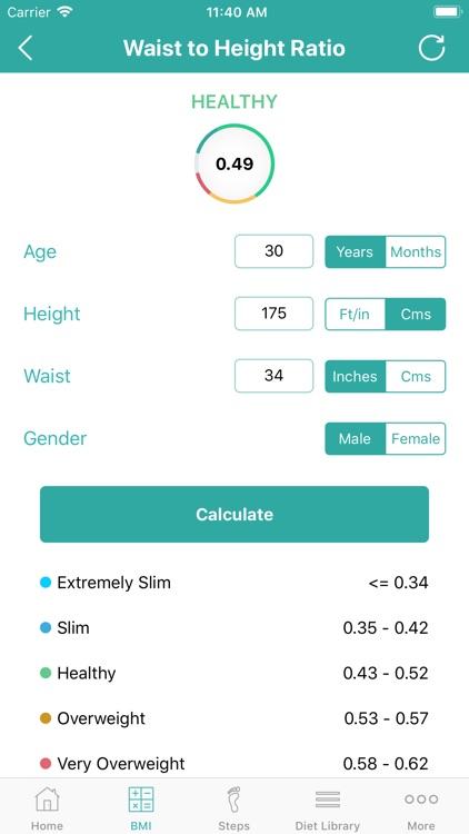 Calorie Counter - Daily Steps screenshot-5