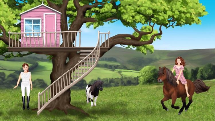 Pony und Reiter Anziehspass screenshot-9