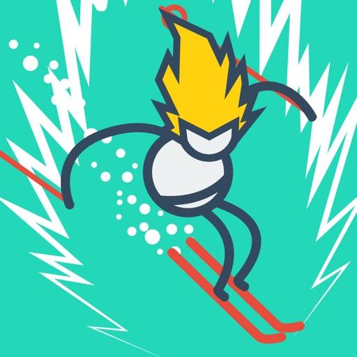 Stickman Ski - winter sports icon