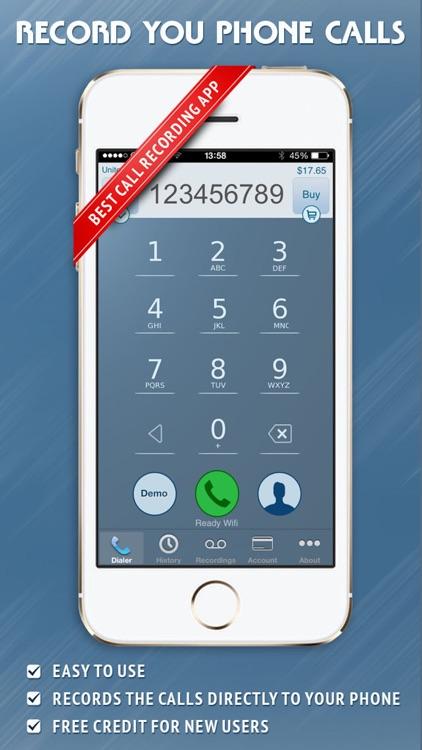 Call Recorder - IntCall screenshot-0