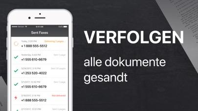 FAX app - Fax SendenScreenshot von 4