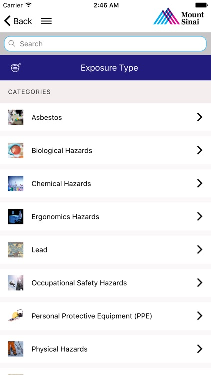 Selikoff Occupational Safety screenshot-3