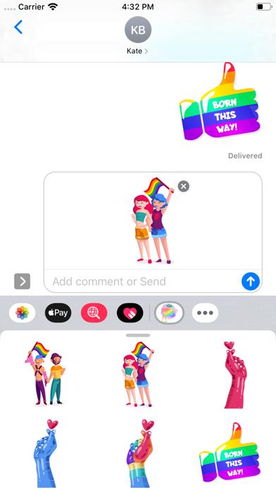 LGBT Power Stickers screenshot 2