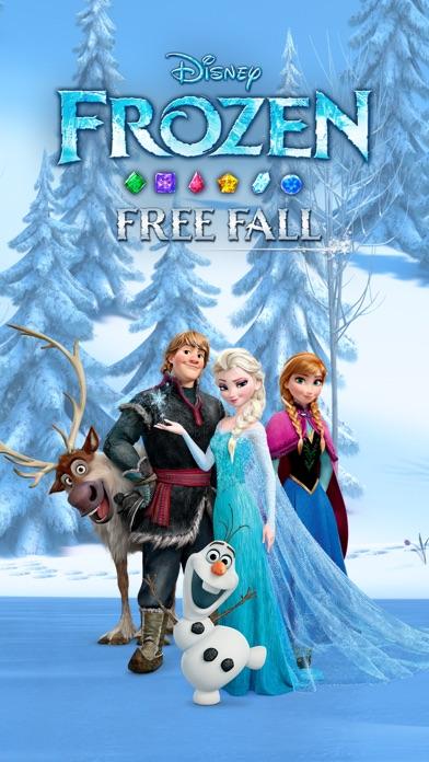 Disney Frozen Free Fall Game Screenshot