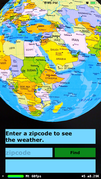 Rotating Globe screenshot 4