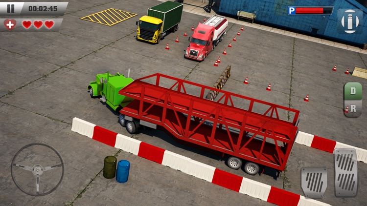 Trucker Parking 3D screenshot-1