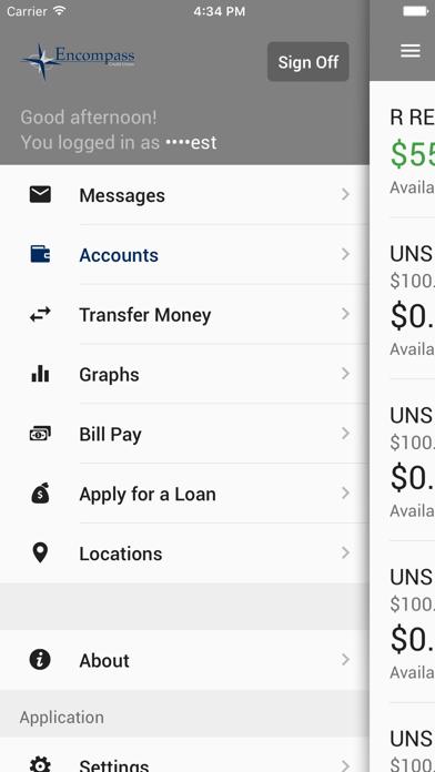 Encompass CU Mobile BankingScreenshot of 4