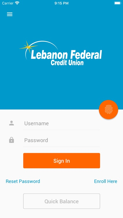 Lebanon Federal Credit Union screenshot-0
