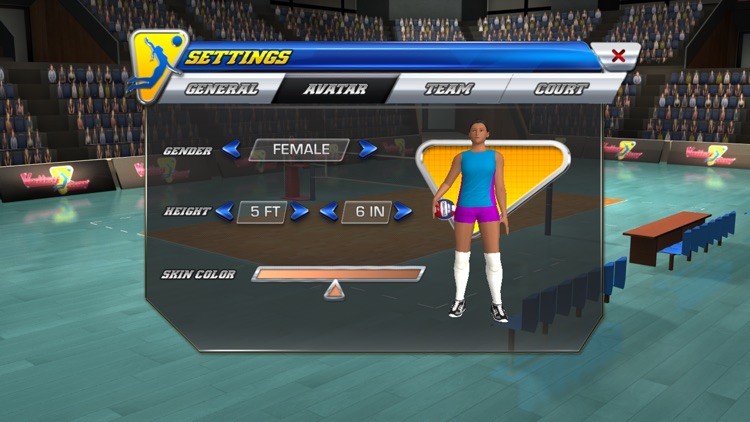 VolleySim: Visualize the Game screenshot-0