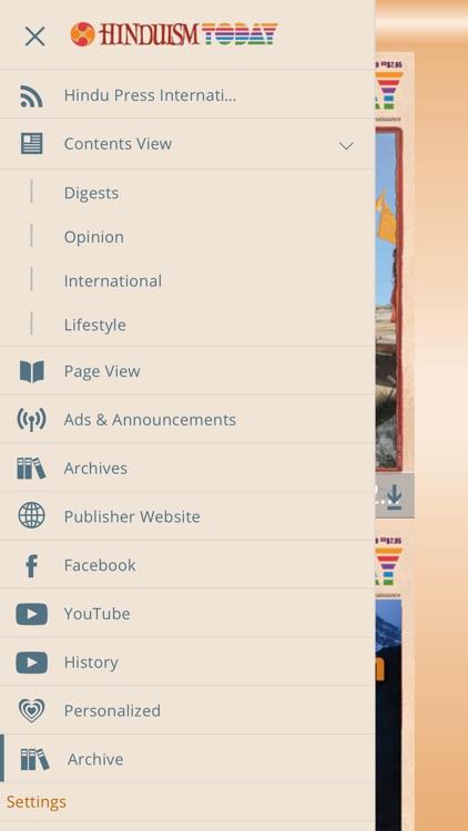 Hinduism Today screenshot-3