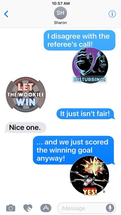 Star Wars Stickers: 40th Anniv screenshot-4