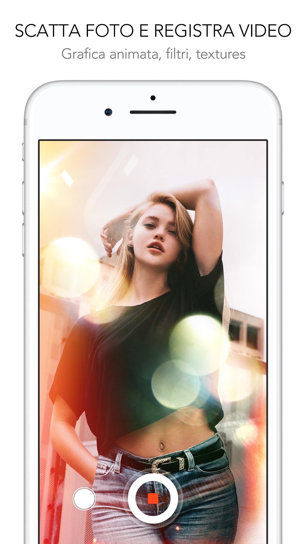 Rookie Cam - Modifica Foto Screenshot