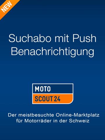 Скриншот из MotoScout24 Schweiz