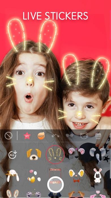 Sweet Cam: Face Filters Editor Screenshot