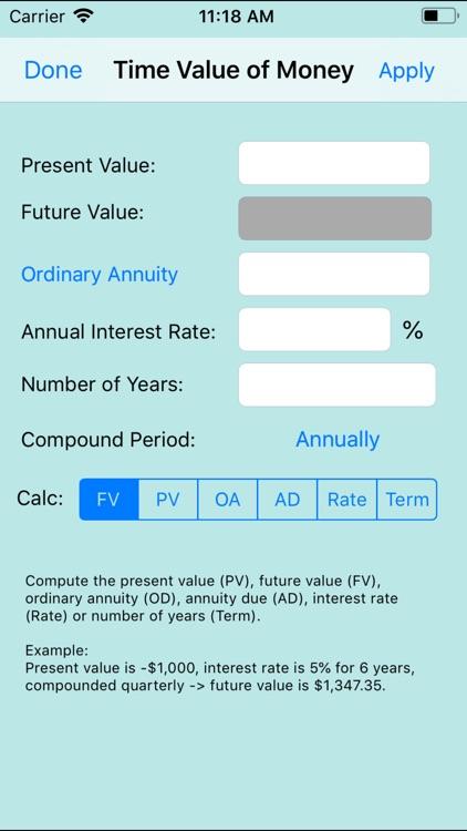 888 Financial Calc screenshot-6
