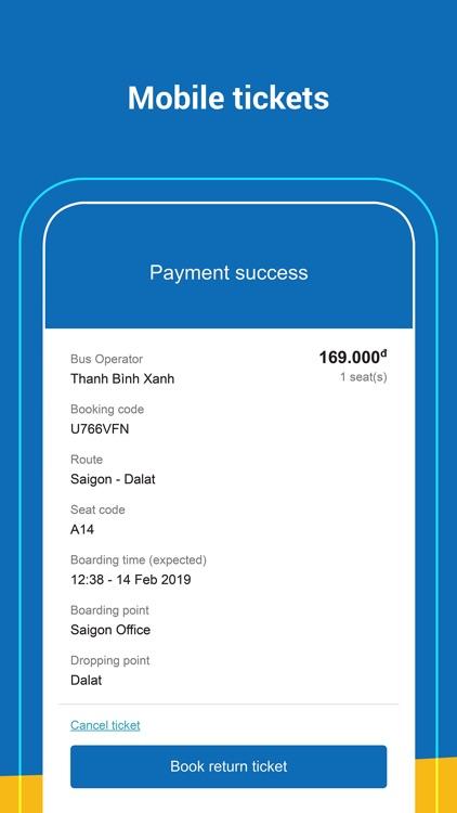 VeXeRe - Bus ticket booking screenshot-4
