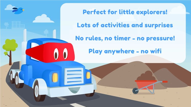 Carl the Super Truck Roadworks screenshot-4