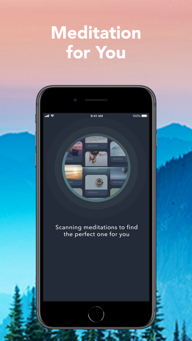Simple Habit Guided Meditation Screenshot