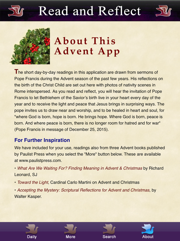 Ipad Screen Shot Advent with Pope Francis 4