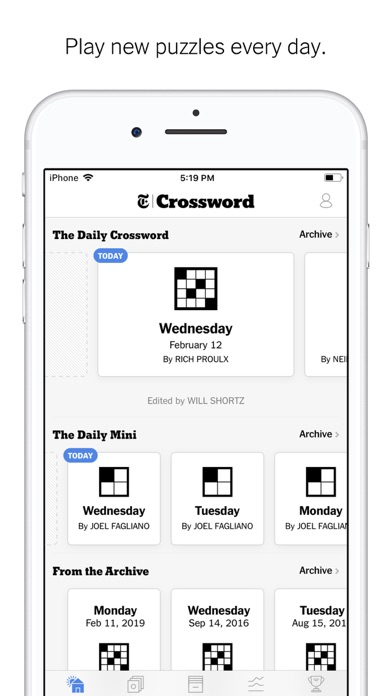 New York Times Crossword screenshot1