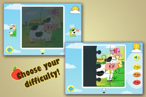 Farm Jigsaw Puzzles 123 Lite - náhled