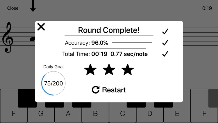 Notes - Sight Reading Trainer screenshot-5