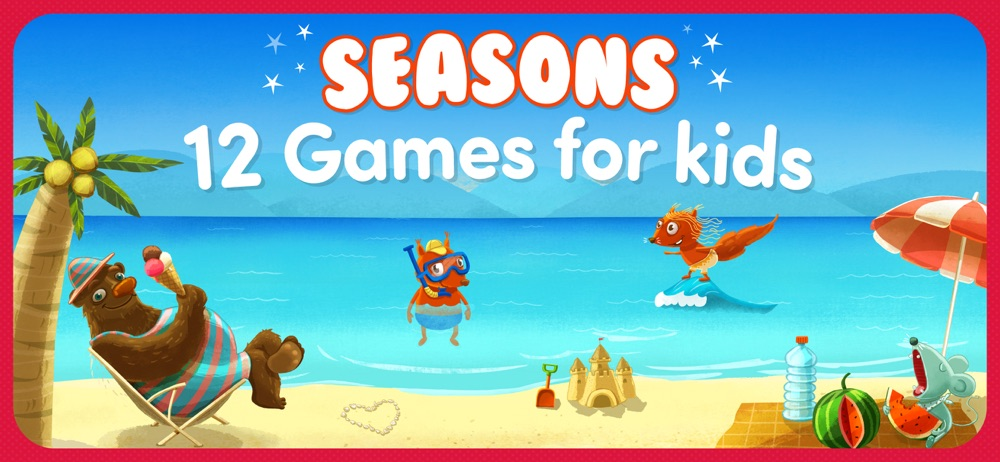 Toddler games for +3 year olds