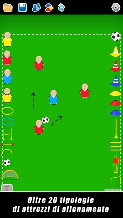Screenshot for Lavagna Tattica: Calcio++ in Italy App Store