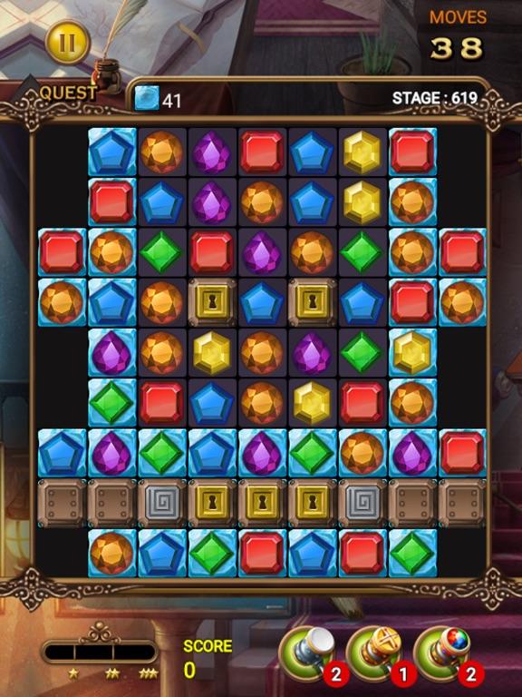 Jewels Magic Quest screenshot 12