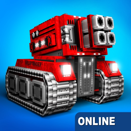 Blocky Cars - pixel shooter