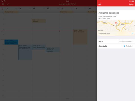 Fantastical 2 para iPad
