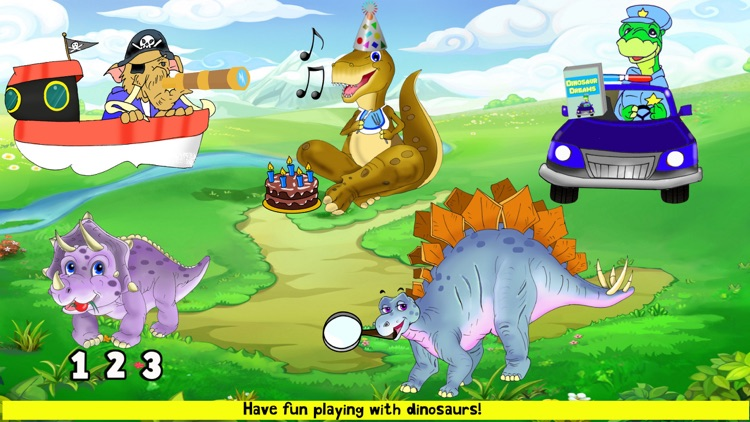 Dinosaur Toddler Games Puzzles screenshot-8