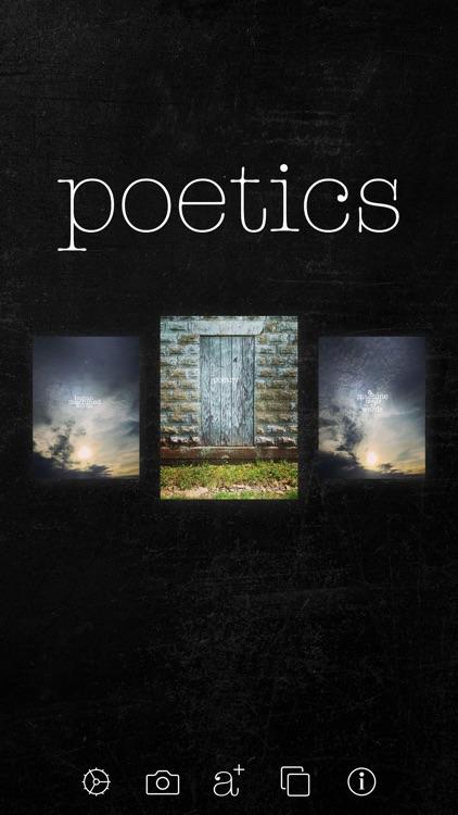 Poetics screenshot-0