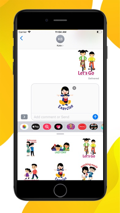 Brother Sister Stickers screenshot 3
