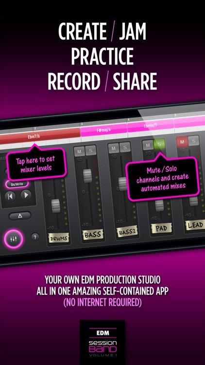SessionBand EDM 1 screenshot-4