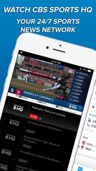 download CBS Sports App Scores & News apps 7